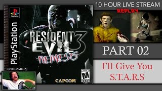 RESIDENT EVIL 3 LIVE | Long Play Replay | Part 2 | I
