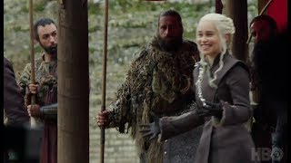 Game of Thrones Episode 7x07 - behind the scenes - Dragonpit meeting