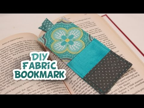 Fabric Bookmark | Easy How to | Whitney Sews