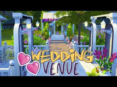 WEDDING VENUE | Sims 4 Room Build