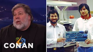 Steve Wozniak Interview Part 1 03/07/16  - CONAN on TBS