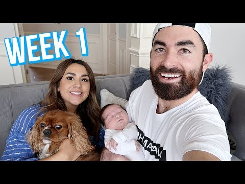 FIRST WEEK WITH NEWBORN BABY   ALEX AND MICHAEL