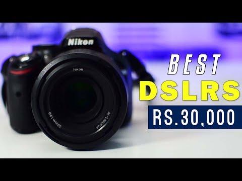 4 BEST DSLR Cameras under Rs 30,000 (2017-2018) | Best Budget DSLR Camera for Beginners!