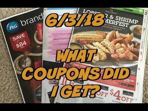 6/3/18 WHAT COUPONS DID I GET?  | 3 Inserts