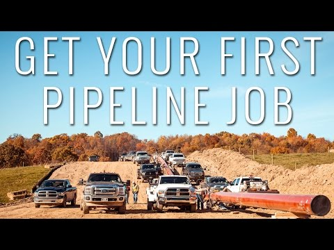 HOW TO GET YOUR FIRST PIPELINE JOB | NEW TO PIPELINE SERIES | PIPELINE LIFE