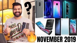 Top Upcoming Smartphones - November 2019🔥🔥🔥