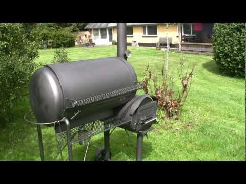 RF Water Tank Offset Smoker.