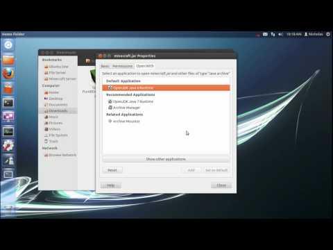 How to install minecraft in ubuntu 12.04
