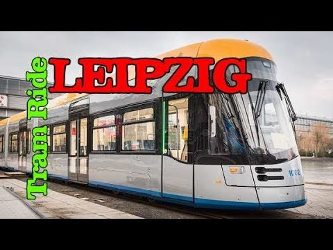 Leipzig Tram 15 Ride | Strassenbahn | Germany