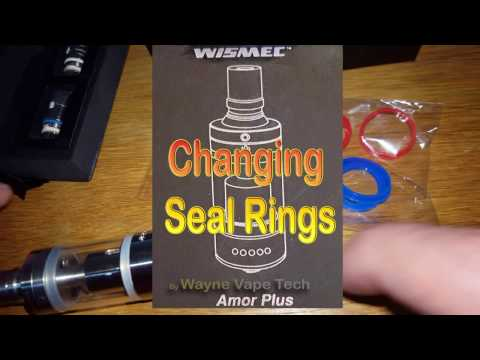 How To Change WISMEC Seal O'rings in AMOR Tank