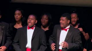 Jesus Is A Rock In A Weary Land - David W. Carter Choir