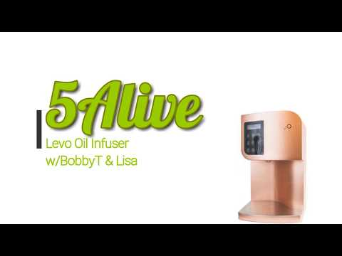 Levo Oil Infuser Review Live on 5AliveVP with BobbyT and Lisa All natural oil infusions and remedies