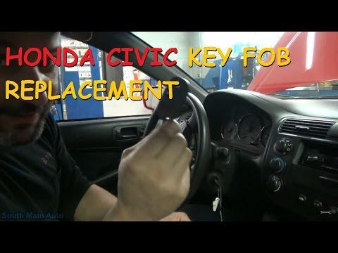 Honda Civic Key Fob Replacement