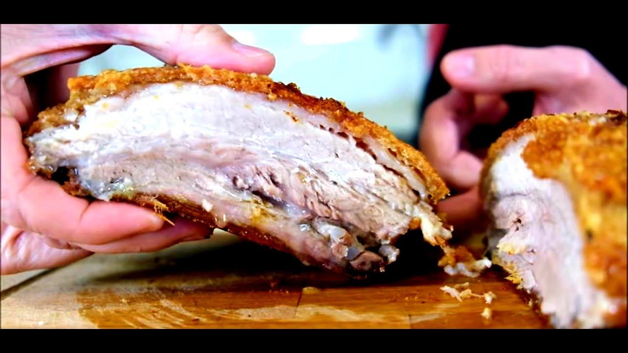 Panceta de Cerdo al Horno Crujiente y sabrosa. Crispy Pork Belly by  Master Choof