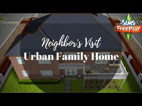 Urban Family Home By Adrians | The Sims FreePlay