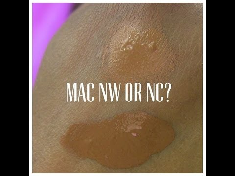 MAC NW or NC: I FINALLY FOUND MY CORRECT SHADE OF FOUNDATION