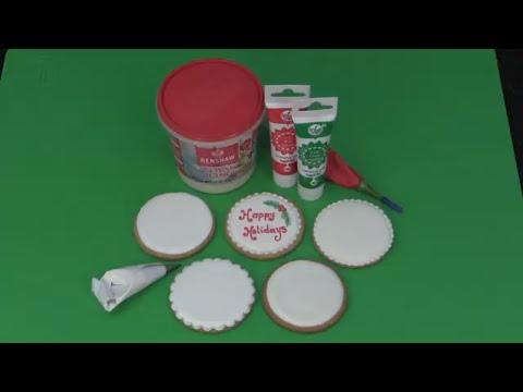 Working with Renshaw Ready-Made Royal Icing with Nicholas Lodge