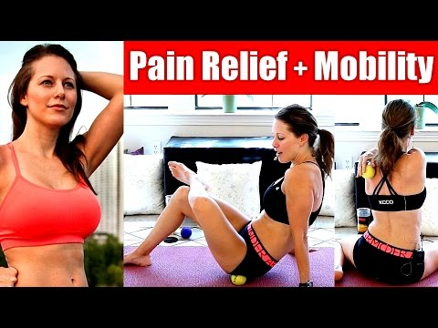 Full Body Pain Relief Self Massage for Mobility in CrossFit & HIIT, Exercises for Back Pain