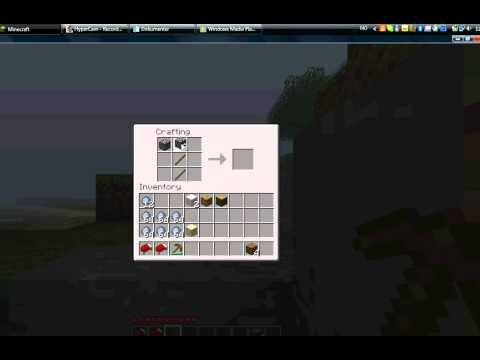 Minecraft- How to make a stone pickaxe