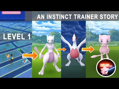 Starting from Level 1 catching mewtwo, shiny lugia, mew and other legendary pokemon!