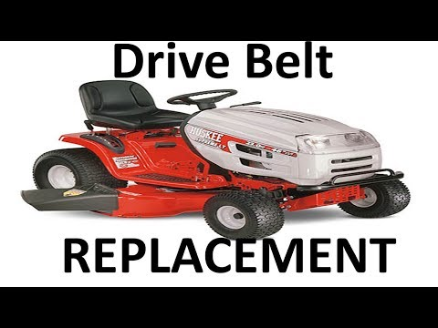 Huskee / MTD Lawn Mower Drive Belt Replacement