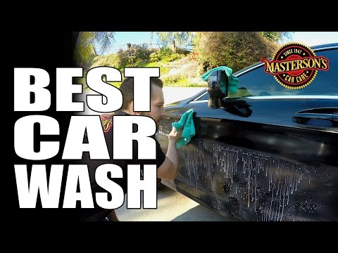How To: Clean Your Car Without Using Water - Masterson's Waterless Wash & Shine - Car Care