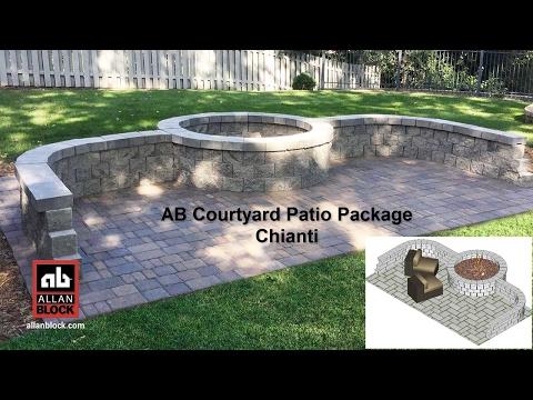 AB Courtyard Patio Package Chianti
