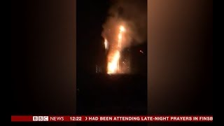 Moment Firefighters First See Grenfell Tower Fire