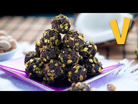 Chocolate Pistachio Truffles