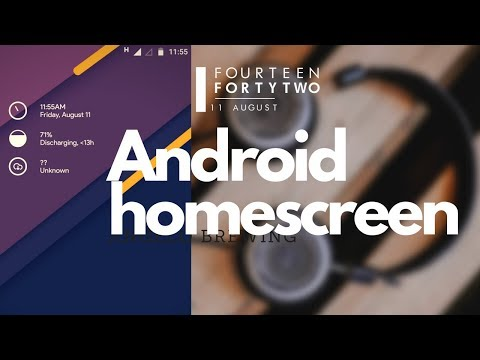 Android home screen customization [ #1]