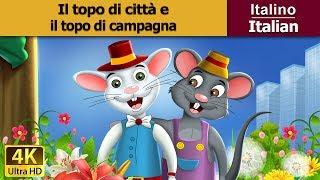 Il topo di  città e il topo di campagna - favole per bambini raccontate - 4K - Italian Fairy Tales