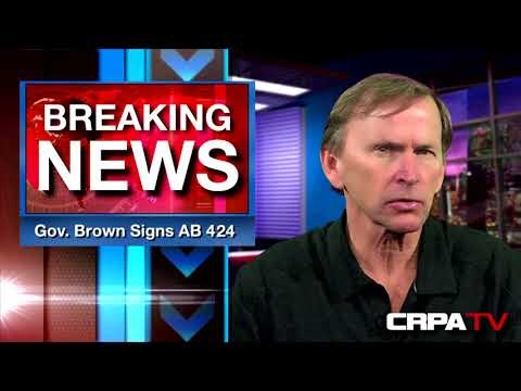 Governor Brown SIGNED AB 424