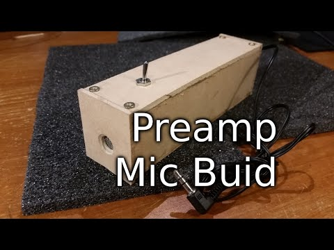 Preamped Microphone Build