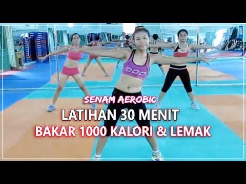 Senam Aerobic 30 Menit Full - Gerakan Membakar 1000 Kalori dan Lemak