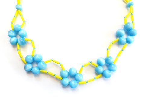 DIY Spring Break Choker Necklace | eclecticdesigns