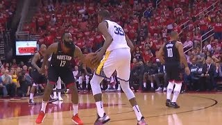 Kevin Durant And James Harden Balling For Their Own Teams 1 On 1 - Warriors vs Rockets