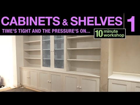 Cabinets and shelves Part 1 #165