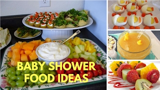 Download Baby Shower Food Ideas on A Budget Theme and Decoration Video