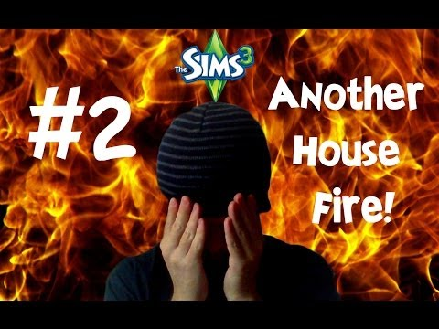 The Sims 3 (Let's Play) | #2: Burning My House Down...AGAIN! (Xbox 360)