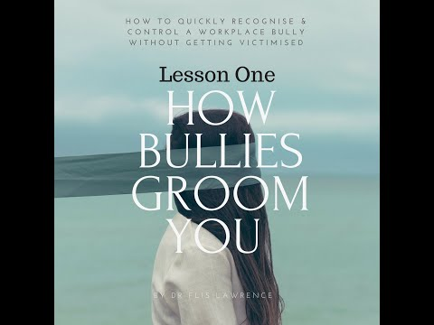 Lesson 1: Tips to dodge being 'reeled in' by a workplace bully