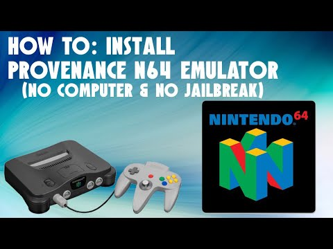 HOW TO: GET AN N64 EMULATOR AND ROMS ON IOS 11