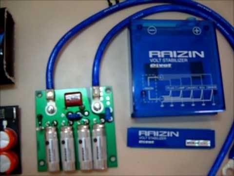 Adhoc Voltaggio VS Pivot Raizin (Voltage Stabilizer) - Hardware Comparison.wmv
