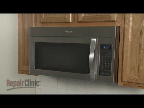 Whirlpool Microwave Disassembly – Microwave Repair Help