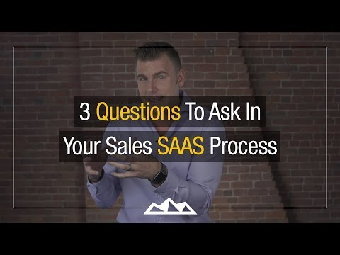 3 Questions To Answer In Your SaaS Sales Process    Dan Martell