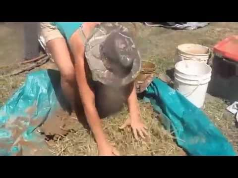 Natural Building:  Using Cob to Make a Bread Oven