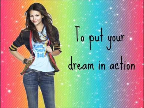 Make it shine- Victoria Justice (With Lyrics)