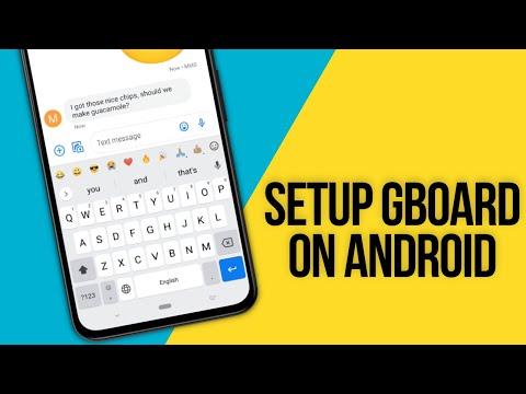 GBoard Tutorial | Beginners | Android | Google Keyboard