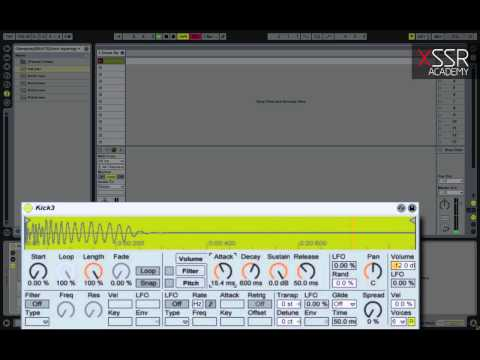 How to make Drum & Bass and Dubstep drums: Kick
