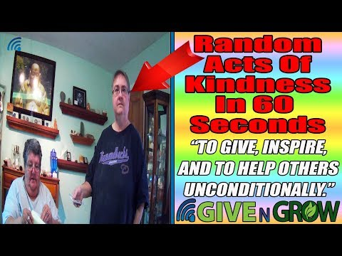 Random Acts of Kindness In Less Than 60 Seconds, Spirit Ladies Positive Changes