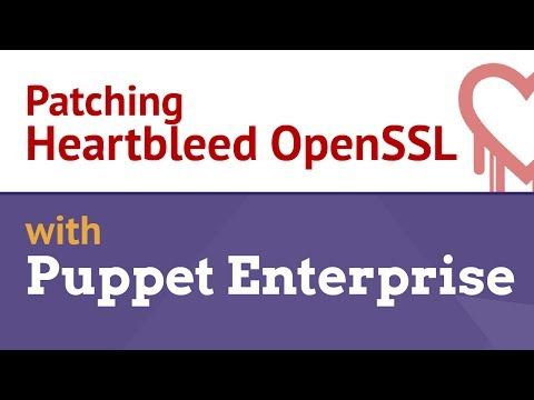 Patching Heartbleed OpenSSL Vulnerability with Puppet Enterprise
